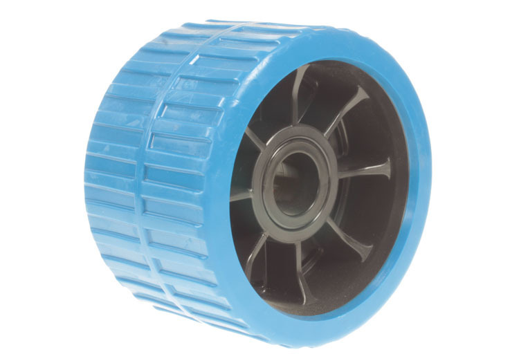 New Wobble roller blue non marking for Boat Trailers