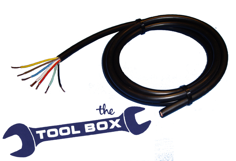 Amazing 8 Core Trailer Lighting Cable For 13 Pin Connectors The Tool Box Wiring Cloud Hisonuggs Outletorg