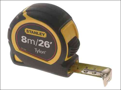 Stanley STA033726 FatMax 8m//26ft Tape Measure