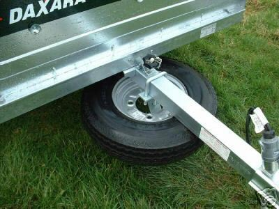 Universal Trailer Spare Wheel Carrier Holder The Tool